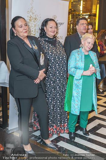 Jeannine Schiller Neujahrscocktail - Hilton Hotel Vienna, Wien - Di 07.01.2020 - Doris KIEFHABER, Tini KAINRATH, Tony VEGAS, Brigitte Gitti KREN52