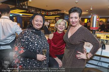 Jeannine Schiller Neujahrscocktail - Hilton Hotel Vienna, Wien - Di 07.01.2020 - Andrea HÄNDLER, Eva BILLESICH, Tini KAINRATH56
