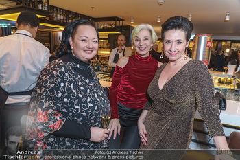Jeannine Schiller Neujahrscocktail - Hilton Hotel Vienna, Wien - Di 07.01.2020 - Andrea HÄNDLER, Eva BILLESICH, Tini KAINRATH57