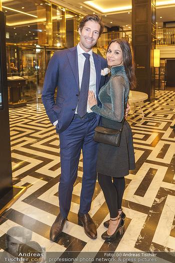 Jeannine Schiller Neujahrscocktail - Hilton Hotel Vienna, Wien - Di 07.01.2020 - Oliver SCHERBAUM, Romina COLERUS58