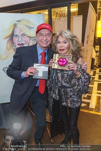 Jeannine Schiller Neujahrscocktail - Hilton Hotel Vienna, Wien - Di 07.01.2020 - Jeannine SCHILLER, Heribert KASPER61