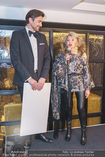 Jeannine Schiller Neujahrscocktail - Hilton Hotel Vienna, Wien - Di 07.01.2020 - Jeannine SCHILLER, Andreas ZAHNT63