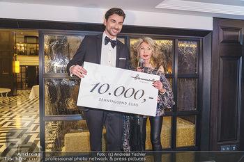 Jeannine Schiller Neujahrscocktail - Hilton Hotel Vienna, Wien - Di 07.01.2020 - Jeannine SCHILLER, Andreas ZAHNT64