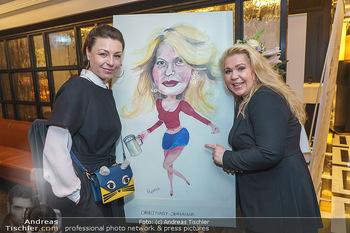 Jeannine Schiller Neujahrscocktail - Hilton Hotel Vienna, Wien - Di 07.01.2020 - Susanna HIRSCHLER, Elisabeth AUER70
