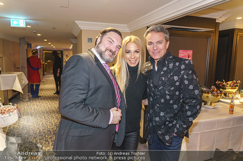 BonBon Ball Pre-Event - Hilton Hotel Vienna, Wien - Mi 08.01.2020 - Martin LEUTGEB, Yvonne RUEFF, Alfons HAIDER1