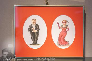 Opernball Benefiz PK - Palais Dorotheum, Wien - Do 09.01.2020 - Bild der Figuren zum Schwarzen Peter Kartenspiel4