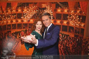 Opernball PK - Wiener Staatsoper - Di 14.01.2020 - Theresa VOGEL, Alfons HAIDER14