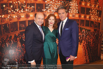 Opernball PK - Wiener Staatsoper - Di 14.01.2020 - Theresa VOGEL, Alfons HAIDER, Dominique MEYER22