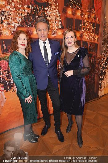 Opernball PK - Wiener Staatsoper - Di 14.01.2020 - Theresa VOGEL, Alfons HAIDER, Maria GROßBAUER GROSSBAUER24