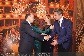 Opernball PK - Wiener Staatsoper - Di 14.01.2020 - Dominique MEYER, Maria GROßBAUER (GROSSBAUER), Alfons HAIDER, T50