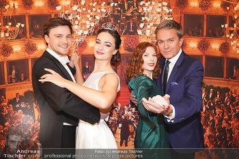 Opernball PK - Wiener Staatsoper - Di 14.01.2020 - Debüdantenpaar Marion und Adrian, Alfons HAIDER, Theresa VOGEL54