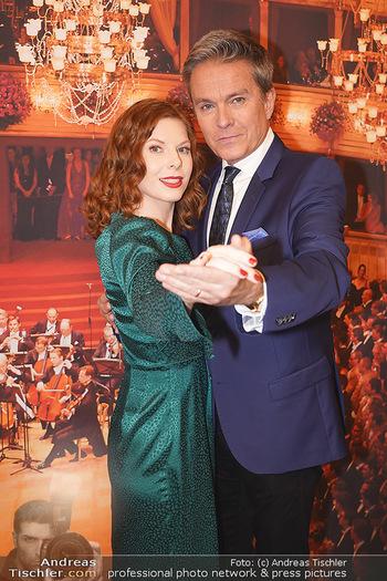Opernball PK - Wiener Staatsoper - Di 14.01.2020 - Alfons HAIDER, Theresa VOGEL57