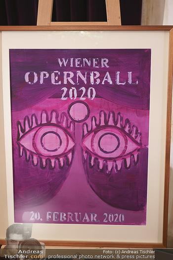 Opernball PK - Wiener Staatsoper - Di 14.01.2020 - Opernballplakat60