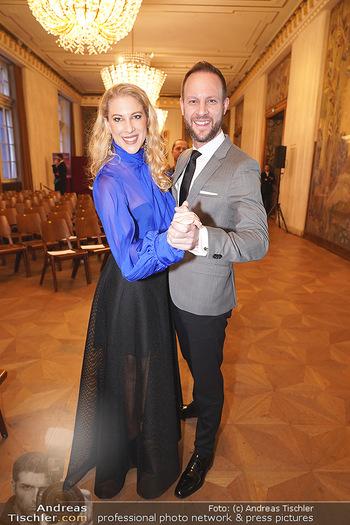 Opernball PK - Wiener Staatsoper - Di 14.01.2020 - Christoph und Maria SANTNER61