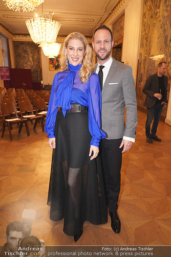 Opernball PK - Wiener Staatsoper - Di 14.01.2020 - Christoph und Maria SANTNER62