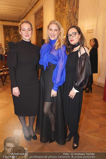 Opernball PK - Wiener Staatsoper - Di 14.01.2020 - Maria SANTNER, Designerinnen ´in or near´ Liliya SEMENOVA, Dia63