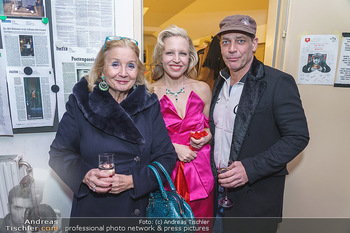Nina Proll Premiere - Rabenhof Theater, Wien - Di 14.01.2020 - Gregor BLOEB, Nina PROLL mit Mutter Dagmar GROSS1