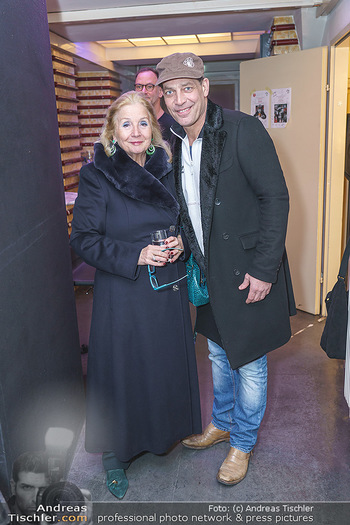 Nina Proll Premiere - Rabenhof Theater, Wien - Di 14.01.2020 - Gregor BLOEB mit Dagmar GROSS (Mutter von Nina Proll)4