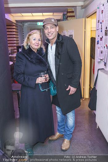 Nina Proll Premiere - Rabenhof Theater, Wien - Di 14.01.2020 - Gregor BLOEB mit Dagmar GROSS (Mutter von Nina Proll)5