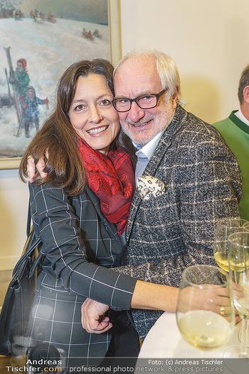 Neujahrsempfang - Hilfe-im-eigenen-Land Office - Mi 15.01.2020 - Michael SCHOTTENBERG mit Freundin Claire13
