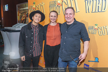 Kinopremiere ´Alles wird gut´ - Hollywood Megaplexx Gasometer, Wien - Mi 15.01.2020 - Gerti DRASSL, Robert PALFRADER, Vincent BUENO1
