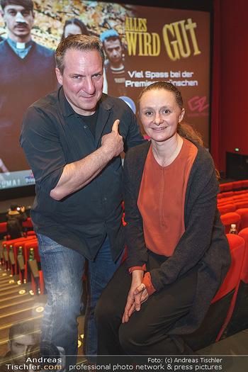 Kinopremiere ´Alles wird gut´ - Hollywood Megaplexx Gasometer, Wien - Mi 15.01.2020 - Gerti DRASSL, Robert PALFRADER14