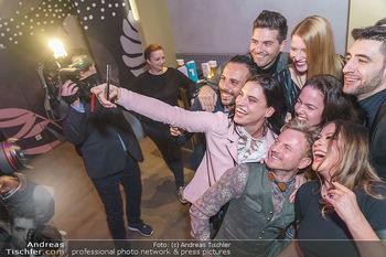 Dancing Stars 2020 - Klyo Urania, Wien - Do 16.01.2020 - Selfie Conny KREUTER, Roswitha WIELAND, Norbert OBERHAUSER etc7