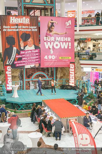 Heute Opernballprinzessin - Lugner City, Wien - Mo 20.01.2020 - 19
