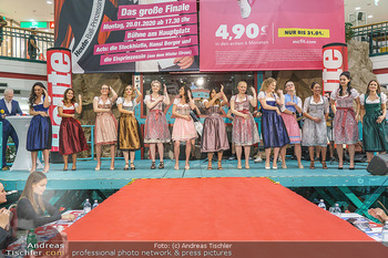Heute Opernballprinzessin - Lugner City, Wien - Mo 20.01.2020 - Teilnehmerinnen im Dirndl27