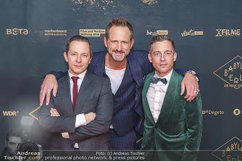 Premiere ´Babylon Berlin´ - Kattus Sektkellerei, Wien - Di 21.01.2020 - Marcus AMMON, Volker BRUCH, Trystan PÜTTER1