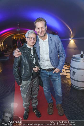 Premiere ´Babylon Berlin´ - Kattus Sektkellerei, Wien - Di 21.01.2020 - Marin DIMALI, Andreas FERNER45