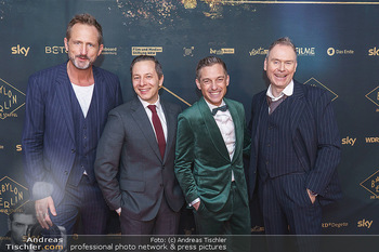 Premiere ´Babylon Berlin´ - Kattus Sektkellerei, Wien - Di 21.01.2020 - Marcus AMMON, Volker BRUCH, Trystan PÜTTER, Michael C. HÜBNER51