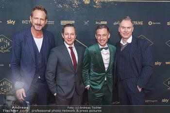 Premiere ´Babylon Berlin´ - Kattus Sektkellerei, Wien - Di 21.01.2020 - Marcus AMMON, Volker BRUCH, Trystan PÜTTER, Michael C. HÜBNER53