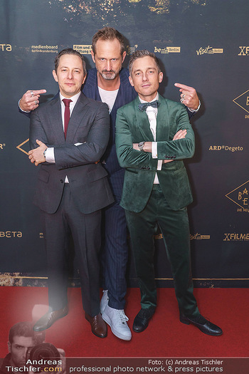 Premiere ´Babylon Berlin´ - Kattus Sektkellerei, Wien - Di 21.01.2020 - Marcus AMMON, Volker BRUCH, Trystan PÜTTER54