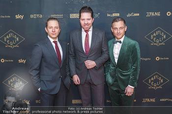 Premiere ´Babylon Berlin´ - Kattus Sektkellerei, Wien - Di 21.01.2020 - Volker BRUCH, Trystan PÜTTER, Daniel SERAFIN56