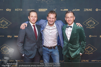 Premiere ´Babylon Berlin´ - Kattus Sektkellerei, Wien - Di 21.01.2020 - Volker BRUCH, Trystan PÜTTER, Andreas FERNER57