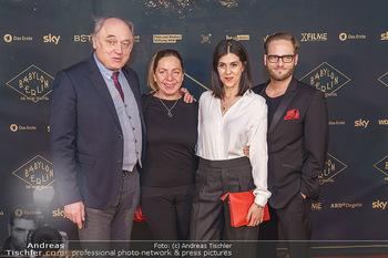 Premiere ´Babylon Berlin´ - Kattus Sektkellerei, Wien - Di 21.01.2020 - Karl FISCHER, Susi STACH, Daniela GOLPASHIN mit Ehemann Dominik63