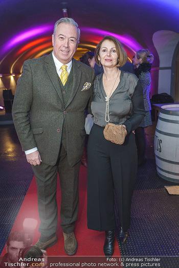 Premiere ´Babylon Berlin´ - Kattus Sektkellerei, Wien - Di 21.01.2020 - Herbert LIPPERT mit Ehefrau Gabriela68