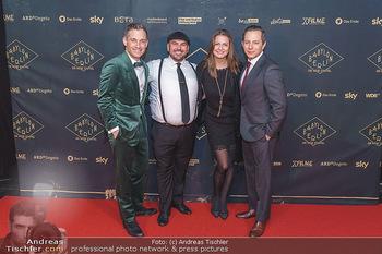 Premiere ´Babylon Berlin´ - Kattus Sektkellerei, Wien - Di 21.01.2020 - Volker BRUCH, Trystan PÜTTER, Tarek SHARIF, Milena RIEDEL101