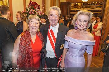 Philharmonikerball 2020 - Musikverein Wien - Do 23.01.2020 - Elisabeth GÜRTLER, Margit und Heinz FISCHER1