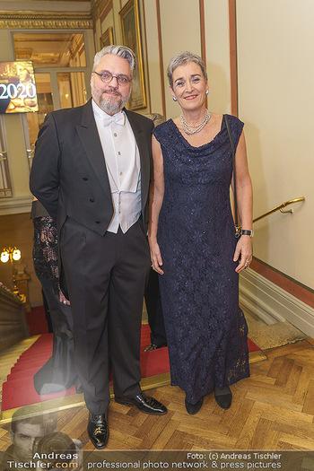 Philharmonikerball 2020 - Musikverein Wien - Do 23.01.2020 - Christof CREMER, Ulrike LUNACEK22
