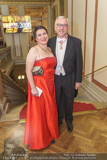 Philharmonikerball 2020 - Musikverein Wien - Do 23.01.2020 - Susanne BRANDSTEIDL, Rudolf Rudi SCHICKER25