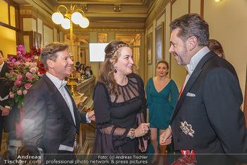Philharmonikerball 2020 - Musikverein Wien - Do 23.01.2020 - Trevor D. TRAINA mit Ehefrau Alexis S., Harald MAHRER37