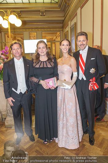 Philharmonikerball 2020 - Musikverein Wien - Do 23.01.2020 - Trevor D. TRAINA mit Ehefrau Alexis S., Harald MAHRER mit Ehefra38