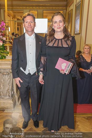 Philharmonikerball 2020 - Musikverein Wien - Do 23.01.2020 - Trevor D. TRAINA mit Ehefrau Alexis S.39