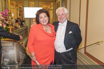 Philharmonikerball 2020 - Musikverein Wien - Do 23.01.2020 - Susanne (Suzanne) HARF mit Ehemann Wolfgang SCHWARZHAUPT43