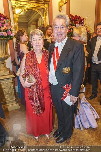 Philharmonikerball 2020 - Musikverein Wien - Do 23.01.2020 - Margit und Heinz FISCHER50