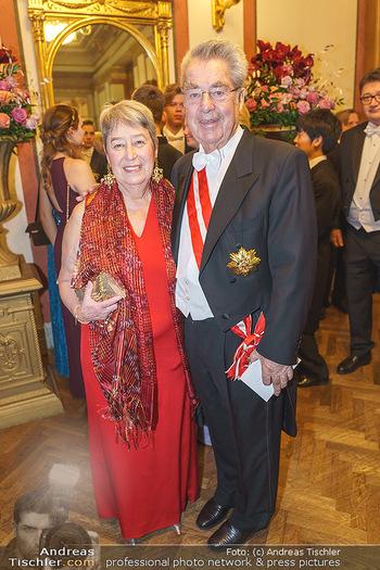Philharmonikerball 2020 - Musikverein Wien - Do 23.01.2020 - Margit und Heinz FISCHER51