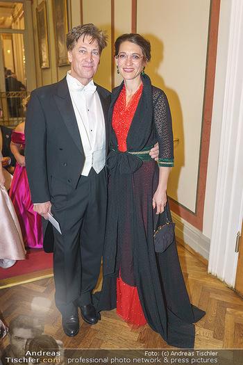 Philharmonikerball 2020 - Musikverein Wien - Do 23.01.2020 - Tobias MORETTI mit Ehefrau Julia68