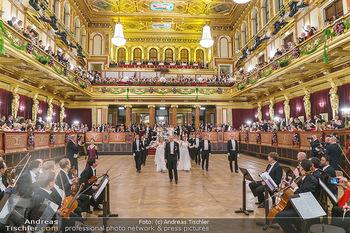 Philharmonikerball 2020 - Musikverein Wien - Do 23.01.2020 - Eröffnung, Einzug Debüdanten83